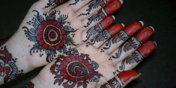 Bridal Henna Designs for Hands