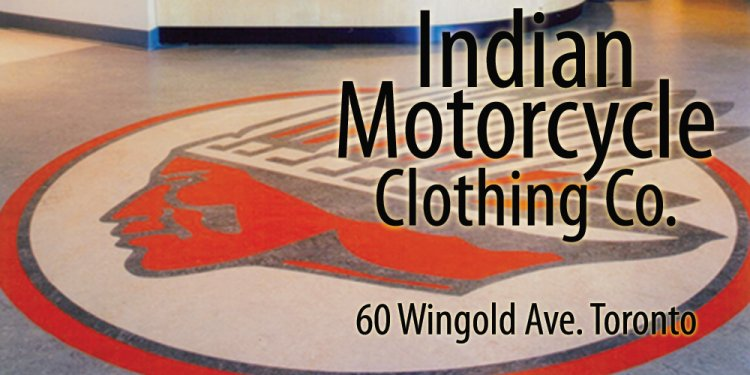 Indian Motorcycle Gear Re