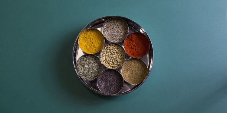Indian spice tin