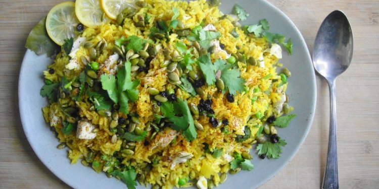 Kedgeree (Indian Spiced Rice