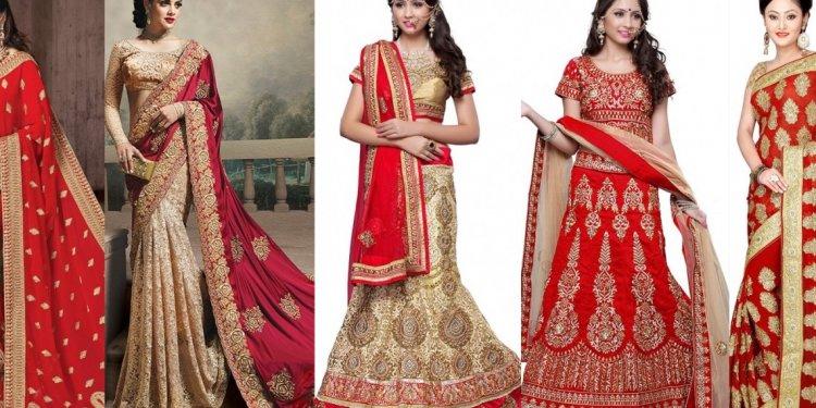 Latest Indian Wedding Saree