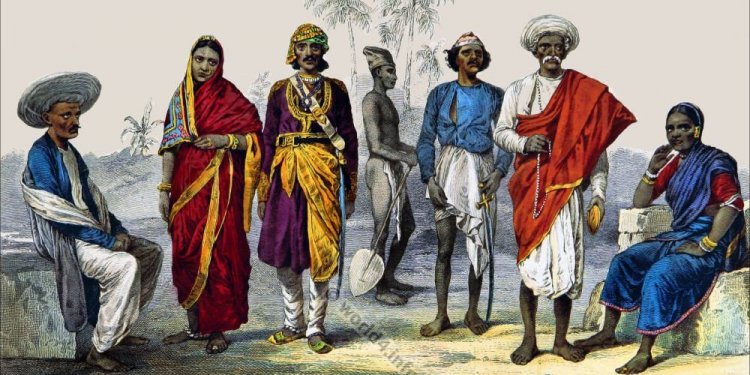 Top Ancient Indian Clothing