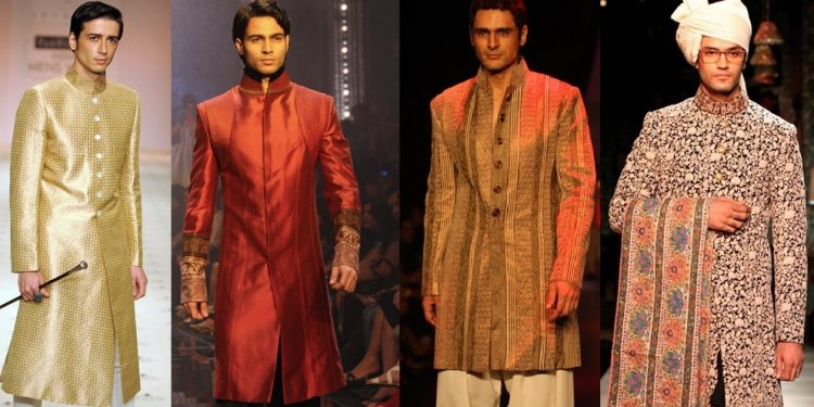 Top Indian Sherwani Designers