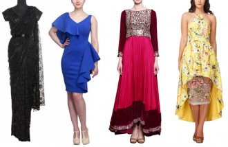 Dressing for Indian wedding events | Cocktail party outfits women