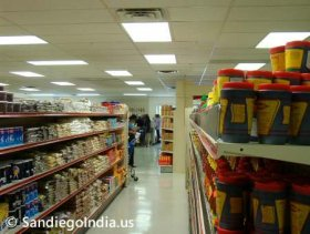 Indian Grocery picture © SandiegoAsia.us