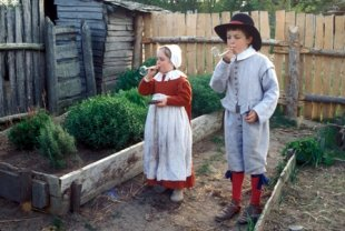 Pilgrim children's clothes