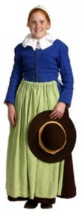 Pilgrim girls' garments