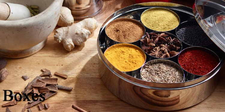 Indian Spice Dabba
