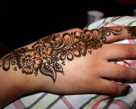 Henna Style Tattoo Designs Indian Stuff