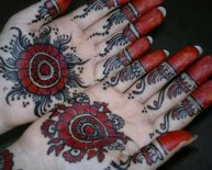 Henna Tattoos Design for Girls