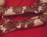 Indian Henna tattoo designs