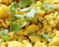 Indian Spiced cauliflower