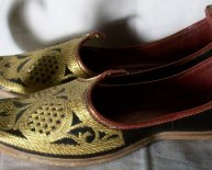 Traditional Indian shoes