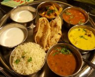 Traditional Indian side dishes