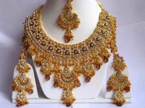 Various solutions In Stunningly Gorgeous Indian Gold Plated precious jewelry