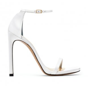 white bridal shoes width=