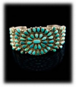 Zuni Pawn Indian precious jewelry